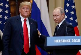 Hai Tổng thống Putin và Trump gặp nhau theo kiểu nào ở Paris?