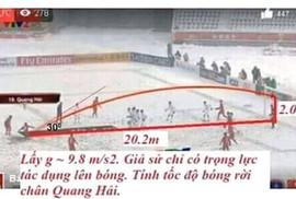 """Nhiều đề thi môn Văn, Toán """"ăn theo"""" U23 Việt Nam"""