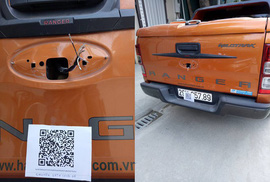 Trộm phụ tùng xe hơi, đòi chuộc bằng tiền ảo tại Việt Nam