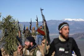 """""""Cuộc chơi lớn"""" ở Syria"""