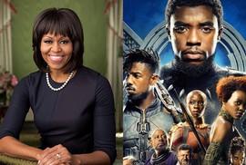 """Bà Michelle Obama yêu phim """"Chiến binh báo đen"""""""