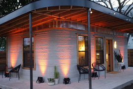 Nhà 60 mét vuông in 3D giá 4.000 USD, rẻ hơn xây