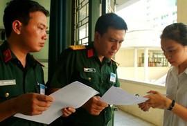 Toàn cảnh tuyển sinh vào các trường quân đội 2018