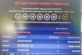 Hai vé số Vietlott trúng hơn 37 tỉ đồng bán ở TP HCM và Kiên Giang