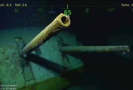 Tìm thấy tàu chiến Mỹ bị Nhật Bản đánh chìm trong Thế chiến II