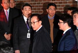 Hàn Quốc: Cựu Tổng thống Lee Myung-bak bị bắt