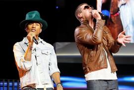 Robin Thicke và Pharrell Williams thua vụ kiện đạo nhạc triệu đô