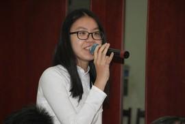 TP HCM: Học sinh bật khóc khi đối thoại với lãnh đạo thành phố