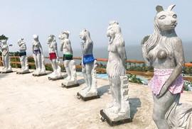 12 con giáp lõa thể ở Đồ Sơn: Cứ đem hết làm kè chắn sóng!