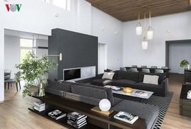 Nếu muốn một căn nhà sang trọng, hãy chọn màu ghi