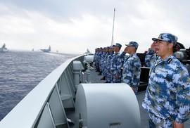 """Đài Loan nói Trung Quốc """"tập trận giả"""""""