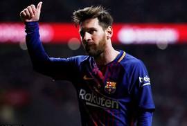 """Thu nhập 110 triệu bảng/mùa, Messi cho Ronaldo """"hít khói"""""""