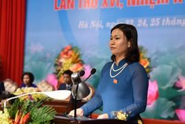 Bà Nguyễn Thị Tuyến tái đắc cử Chủ tịch LĐLĐ TP Hà Nội
