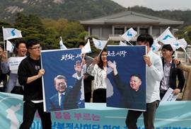 Ông Kim Jong-un sẽ đi bộ qua biên giới liên Triều
