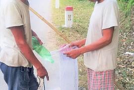 """Theo """"rái cá"""" đi săn cá trên sông Đakrông"""