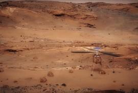 NASA sắp đưa trực thăng lên Sao Hỏa