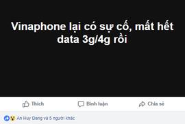 Mạng 3G, 4G VinaPhone tại TP HCM gặp sự cố