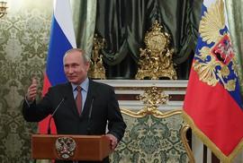 Ông Putin cảm ơn ông Medvedev, tiết lộ mục tiêu quan trọng