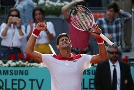 Djokovic lấy lại cảm hứng khi thắng Nishikori ở Madrid Open