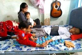 Một gia đình cần giúp đỡ