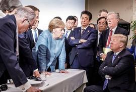 """""""Bão lớn"""" thổi trật bánh G7"""