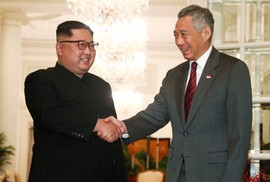 Thủ tướng Singapore tiếp ông Kim Jong-un