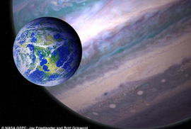 Hàng loạt mặt trăng có thể chứa sự sống