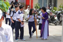 Các thí sinh đặc biệt dự thi THPT quốc gia