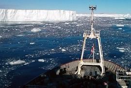 Nhiệt núi lửa bí ẩn dưới sông băng Nam Cực