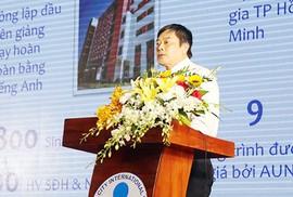 TS Trần Tiến Khoa làm hiệu trưởng Trường ĐH Quốc tế