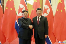 """Khi lãnh đạo thế giới """"xếp hàng"""" gặp ông Kim Jong-un"""