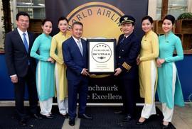 """Vietnam Airlines năm thứ 3 liên tiếp nhận chứng chỉ """"4 sao"""""""