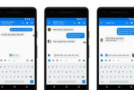 Chat trên Messenger Facebook có thêm tính năng gợi ý thông minh