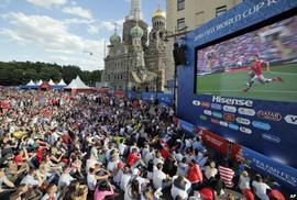 Muôn vẻ cuồng nhiệt của sinh viên với World Cup