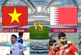 Tối nay 23-8, trận Olympic Việt Nam-Bahrain phát trên kênh nào của VOV, VTC, VTV?