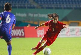 Thua ở loạt đá 11 m, nữ Việt Nam dừng bước tại tứ kết