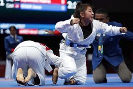 Qua mặt đại gia Tây Á, Campuchia có HCV Á vận hội đầu tiên