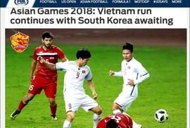 Truyền thông Hàn Quốc và báo nước ngoài khen ngợi Olympic Việt Nam