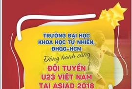Trường ĐH yêu cầu sinh viên ăn mặc lịch sự, không quá khích khi xem Olympic Việt Nam - Hàn Quốc