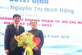 Trường ĐH Sư phạm TP HCM có nữ hiệu trưởng đầu tiên