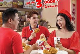 Thứ ba, diện đồ đỏ đi KFC