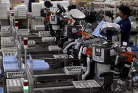 """Robot không phải """"kẻ cướp việc làm"""""""