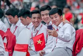 """Đốn tim hình ảnh """"siêu cute"""" của tuyển thủ Olympic Việt Nam"""