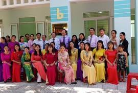 Học sinh, giáo viên TP HCM đóng góp xây trường ở Lý Sơn