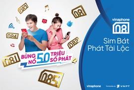 """VinaPhone chính thức mở bán dải sim """"Phát tài lộc"""" 08x"""