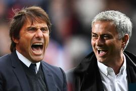 """Conte tuyên bố thôi """"chiến tranh"""" với Mourinho"""