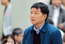 Luật sư đề nghị ông Đinh La Thăng đối chất tại tòa