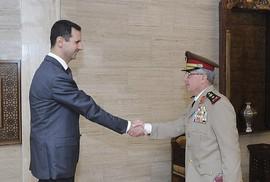 Tổng thống Assad bất ngờ thay bộ trưởng quốc phòng