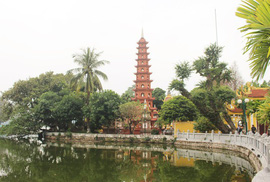 Cận cảnh ngôi chùa đẹp bậc nhất thế giới ở Hà Nội