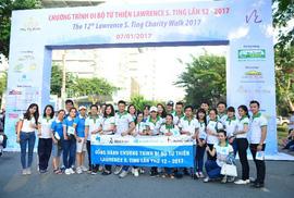 Hòa Bình: 13 năm đồng hành cùng bước chân thiện nguyện Lawrence S.Ting